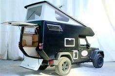 Jeep Wrangler Action Camper.