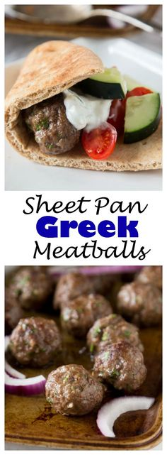 Sheet Pan Greek Meat