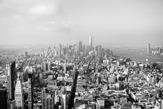 New York City . NYC From Empire State Building