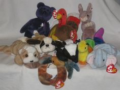 The Most Valuable Beanie Babies Could Be Hiding in Your Closet Beanie  Babies Worth Money b8e591eadf4