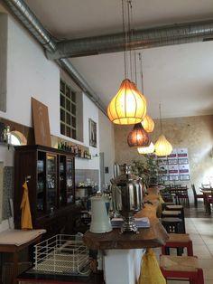 Restaurant Noosh Buffet, Vienna, Track Lighting, Brunch, Ceiling Lights, Eat, Home Decor, Afghan Cuisine