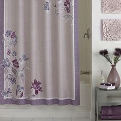 Excell Zara Fabric Shower Curtain