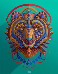 Vibrant Illustrations by Juanco