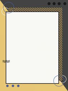 Geometric Background Memphis Yellow Lines Paper Background Design, Book Background, Light Background Images, Geometric Background, Wallpaper Powerpoint, Powerpoint Background Design, Page Borders Design, Border Design, Math Design