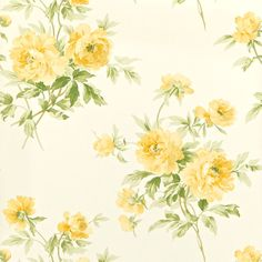 Pretty design and colours. Sanderson Adele Wallpaper in Primrose