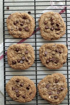 Soaked Chewy Whole Wheat Chocolate Chip Cookies | Live Simply