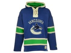 Vancouver Canucks NHL Men's Home Lacer Hoodie