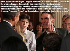 Jose Canseco Takes Shots At Bill Nye The ScienceGuy