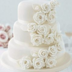 All white wedding inspiration! - but I would do it in the wedding colors instead.