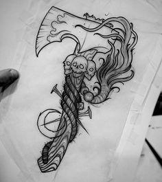 Steampunk timekeeping Also a novel accessories evocative of Victorian Gothic. M Steampunk timekeeping Also a novel accessories evocative of Victorian Gothic. M Steampunk timekeeping Also a novel accessories evocative of Victorian Gothic. Badass Tattoos, Leg Tattoos, Black Tattoos, Body Art Tattoos, Sleeve Tattoos, Warrior Tattoos, Tattoo Ink, Lettering Tattoo, Octopus Tattoos
