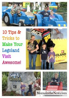 """Ten Tips and Tricks to Make Your Legoland Visit Awesome! A family of four boys who have """"been there, done that"""" at LEGOLAND share their experience. You need to read this article before you go!   Build Memories Brick by Bricks at Legoland Florida."""