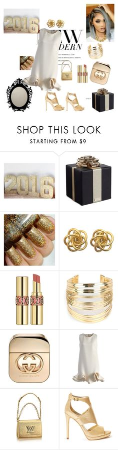 """""""Untitled #159"""" by dzejlana-leptiric ❤ liked on Polyvore featuring Kate Spade, Yves Saint Laurent, WithChic, Gucci, Chicwish and GUESS"""