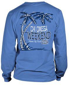 567da1ad Beach Weekend T-shirt Rush Shirts, Beach T Shirts, Cheer Shirts, Sorority