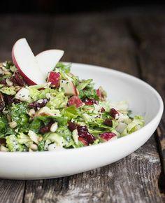 Fall Kale Super Salad | seasonsandsuppers.ca