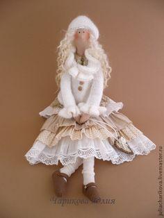 Куклы Тильды ручной работы. Ярмарка Мастеров - ручная работа Бохо. Февраль.. Handmade.