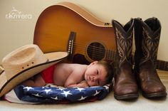 Country baby photo ideas