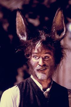 A Midsummer Night's Dream (Shakespeare Re-Read Shakespeare, Donkey Costume, Midnight Summer, Kevin Kline, Dream Party, Dream Wedding, Midsummer Nights Dream, Classic Movies, Costume Design