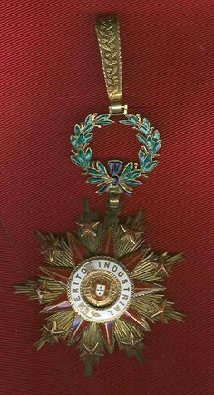 PORTUGAL. Republic. Agricultural Order of Merit. Badge. By João Anjos, Lisbon. 64mm