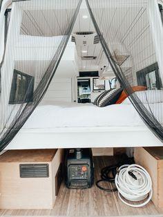 Our Van Quest Van Conversion Plans, Van Conversion Interior, Cargo Trailer Camper Conversion, Camper Van Conversion Diy, Sprinter Conversion, Van Living, Tiny House Living, Motorhome, Custom Camper Vans