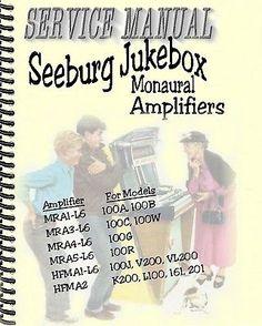 Seeburg Jukebox[Juke Box] Monaural Amplifier Manual PDF - http://collectibles.goshoppins.com/arcade-jukeboxes-pinball/seeburg-jukeboxjuke-box-monaural-amplifier-manual-pdf/