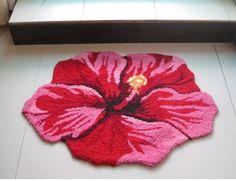 anti-slip rug flower mat floor carpet 50cm*84cm CPAM free 1 piece/lot handmade door mat carpet christmas gifts free shipping $45.54