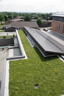Long term care facility, Kipling Acres adds to the quality of life of its residents by installing a bird friendly green roof using the LiveRoof® Hybrid Green Roof System. (http://livingarchitecturemonitor.com/index.php/news/allnews/389-liveroof-s-bird-friendly-green-roof-featured-at-kipling-acres) | #greenroof #green #roof #kiplingacres #liveroof #birdfriendly #biodiversity #sustainable #eco