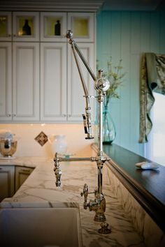 Waterstone Annapolis Suite Gantry Faucet. The Ultimate Showstopper!