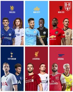 Just 2 Away Kits Missing - All Premier League Kits Leaked / Released So Far - Footy Headlines Memes Liga, Chelsea Man City, Manchester United Home Kit, Manchester City Wallpaper, Premier League Fixtures, Goalkeeper Kits, Premier League Teams, League Memes, Youth Soccer