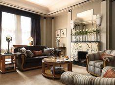 Fabulous Art Deco Furniture Adding Rich Colors and Unique Designs to Modern Interior Decorating