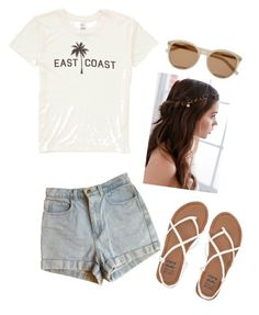 """""""Untitled #68"""" by valerialoman on Polyvore featuring Billabong, American Apparel, Yves Saint Laurent and REGALROSE"""