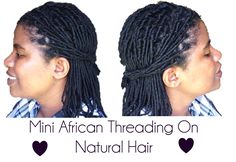 4 Ways You Can Style Your Hair With African Threading - African Threading Hairstyles African Threading, Hair Threading, Short Relaxed Hairstyles, Classy Hairstyles, Natural Hair Tips, Natural Hair Styles, Long Hair Styles, African Hairstyles, Afro Hairstyles