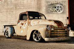 1948 Chevrolet C-10 Slammed Suspension 3100 Hot Rod Patina Shop Truck