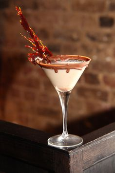 Dangerously Divine cocktail @ Bar Soho. Try this chocolatey concoction for £8, delicious!