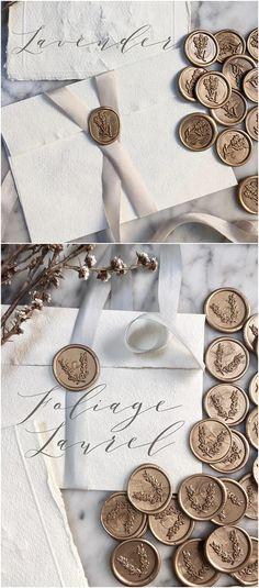 French Wreath Wax Seals, Antique Wax Seals, Self Adhesive Wax Seals, Invitation … Wedding Pins, Wedding Ideas, Wedding Inspiration, Lace Invitations, Eclectic Wedding, Antique Wax, Wedding Proposals, Wax Seal Stamp, Used Iphone