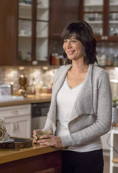 """Good Witch, Season 3 - """"A Birthday Wish"""" Why was Cassie's page blank in the Merriwick Wish Book? Find out on Sunday night on Hallmark Channel! The Good Witch Series, Witch Tv Series, Cut And Style, Mom Style, Hallmark Good Witch, Katherine Bell, James Denton, Uniqlo Style, Tv Show Casting"""