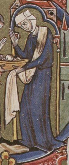 Bible moralisée  - Biblia historica-allegorica iconologica Veteris Testamenti cum textu marginali gallico. 2. Viertel 13. Jhdt. (1225-1249) Cod. 2554 Folio 103