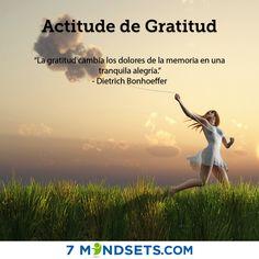 Actitud de Gratitud #7mindsets #actituddegratitud