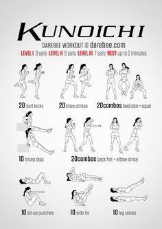 Kunoichi Workout
