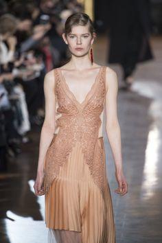 Delicate nightwear take the streets at @StellaMcCartney.