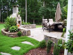 Simple Outdoor Fireplace Plans — Perfect Decorating