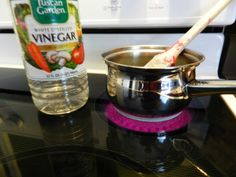Naturally Frugal DIY: Use vinegar to clean dried paint brushes