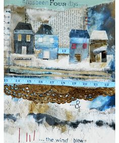 Louise O'Hara | Mixed Media Seaside Paintings
