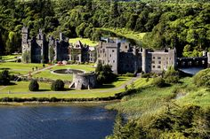 Spend the night in Ashford Castle in County Mayo which was voted 'Best Hotel in the World'