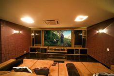conforto é indispensável em um cinema em casa