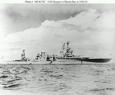 U.S. Navy heavy cruiser U.S.S. Houston (CA-30)