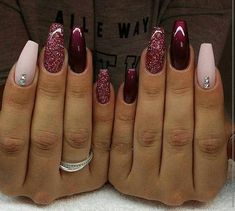 November Nail Designs Picture gorgeous nails for november december winter nails maroon November Nail Designs. Here is November Nail Designs Picture for you. November Nail Designs nail designs for sprint winter summer and fall holidays to. Maroon Nail Designs, Acrylic Nail Designs, Nail Art Designs, Nails Design, Winter Nail Designs, Nail Ideas For Winter, Nail Designs 2017, Trendy Nails, Cute Nails