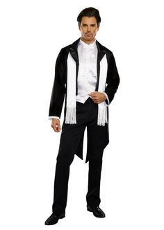 Dreamgirl Mens Good Time Charlie 1920s Style Costume