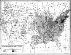 US population distribution, 1880    #ancestry #genealogy #Census #1880