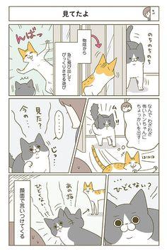Cat Art, Illustrations, Comics, Cats, Funny, Gatos, Illustration, Funny Parenting, Cartoons