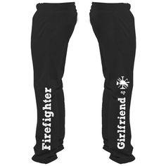Firefighter Girlfriend Sweatpants